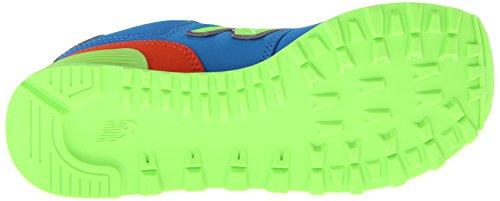 New Balance Damen 574 Sneakers Blau (Blue Multicolour)