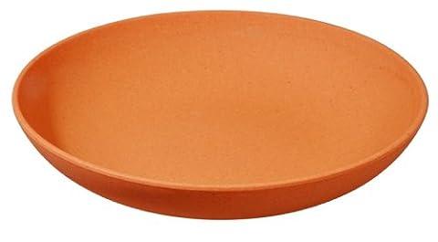 Assiette, orange (alternative vaisselle mélamine-zuperzozial raw earth collection
