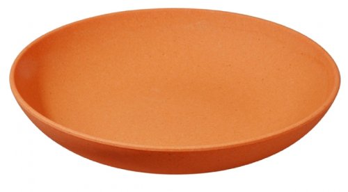 (Pumpkin Orange) - Zuperzozial Pasta plate, orange (Alternative to the melamine crockery) Raw Earth Collection