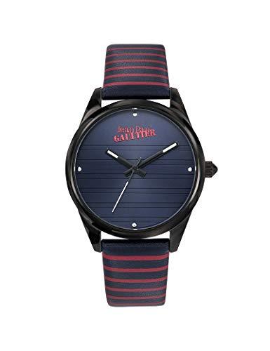 Jean-Paul Gaultier - Reloj de Piel para Mujer, Color Azul