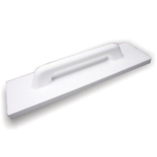 DEWEPRO® Polystyrol PS Reibebrett Putzbrett Reiber Glätter für Kalkputze - Abmessung: 1000x140mm