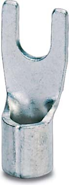 Phoenix Contact 3240142 Gabelkabelschuh C-FC 2,5/M3, 100 Stück Silber