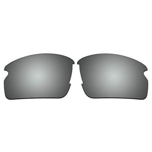 aCompatible Ersatz-Objektive für Oakley Flak 2.0Sonnenbrille oo9295(nicht fit Flak 2.0XL), Titanium - Polarized