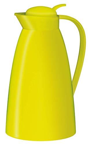 alfi 0825.082.100 Isolierkanne Eco, Kunststoff gefrostet Apfelgrün 1,0 l, 12 Stunden heiß, 24 Stunden kalt