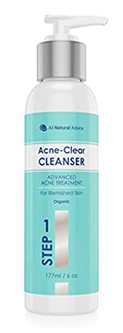 NEW! Advanced Acne Cleanser - Certified Organic - Made in