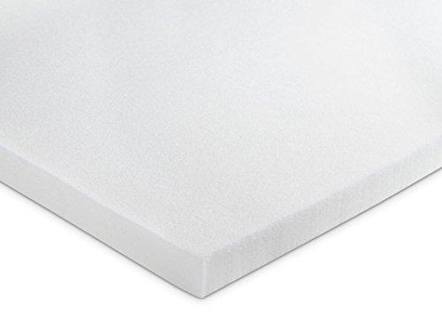 KAMA HAUS Top Topper Visco 2 cm | Top para colchón | Alta Gama | Viscoelástica Premium 50kg/m3 | Ergonómico | Alto Confort y adaptabilidad | Sin Funda | 90 x 190 cm. |