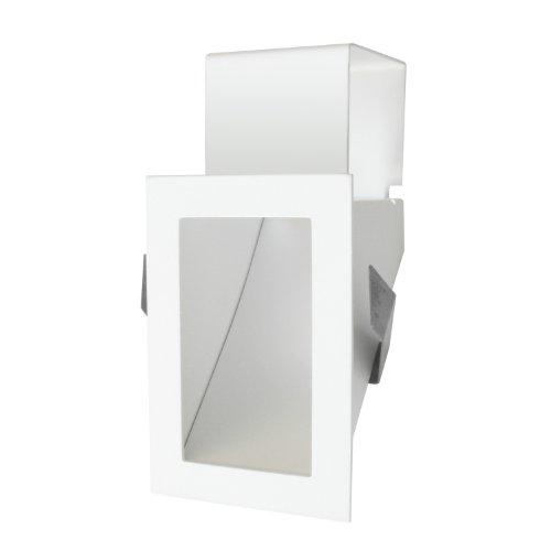 Studio Italia Design - Luce LED da incasso a parete, bassa tensione, 1,2 Watt