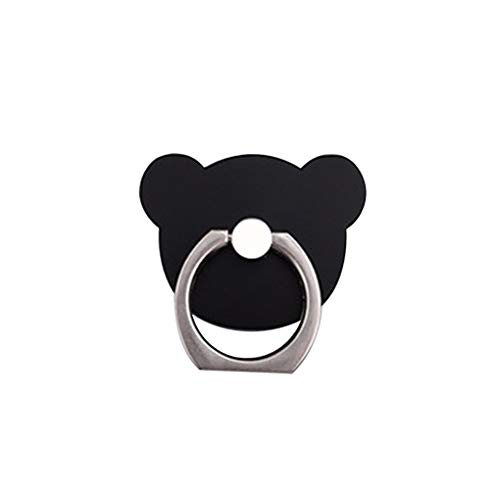 B?Ren-Form-Telefon-Ring 360 Grad drehbarer Ring Grip Anti-Tropfen-Stick-up Mobiltelefon-Halter St?nder Regard