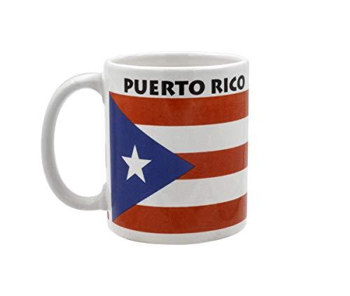 Tasse-Puerto Rico Flagge Kaffeetasse aus Keramik 11Unze
