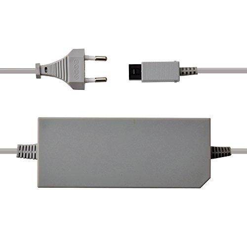 AC Netzteil, Netzteil (EU-2-Pin-Stecker) Blei / Kabel: für Nintendo Wii Konsole -Netzteil Ladekabel Stromkabel für Wii Konsole