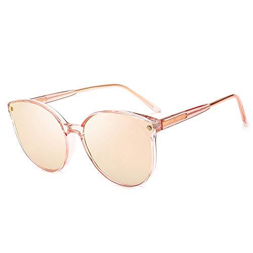 Bunter Polarisierter Sonnenbrillen-weiblicher Treibender Spiegel, Stilvoller, UV-beständiger, Bequemer Augenschutz, Verwendbar Für Eine Vielzahl Von Gesichtstypen. (Color : Pink)