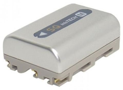 PowerSmart® 1500mAh Batteria per Sony Cyber-shot, MVC-CD Serie Cyber-shot DSC-F707, DSC-F717, DSC-F828, DSC-R1, DSC-S30, DSC-S50, DSC-S70, DSC-S75, DSC-S85, MVC-CD200, MVC-CD250, MVC-CD300, MVC-CD350, MVC-CD400, MVC-CD500 (Argento)