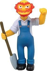 Simpsons Figurines Series 3 Springfield Elementary - Groundskeeper Willie 1