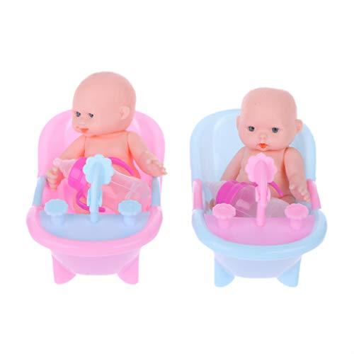 Gjyia Neue Baby Doll Überraschung Puppe Reborn Puppe Baby Real Mini Bebe Reborn Mädchen Baby Spielzeug A 15 cm