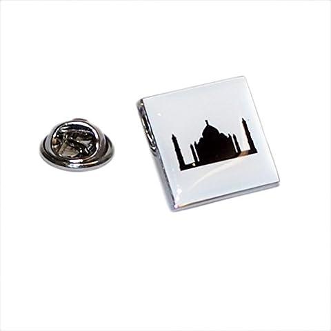 Silhouette Taj Mahal Lapel Pin Badge XOMTP127