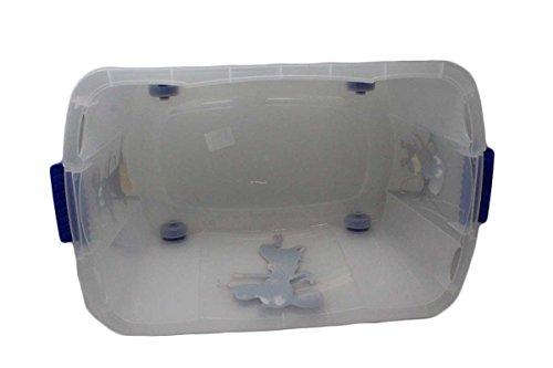 Caja para juguetes (Multi Box) con ruedas, niño, Maus-Blau