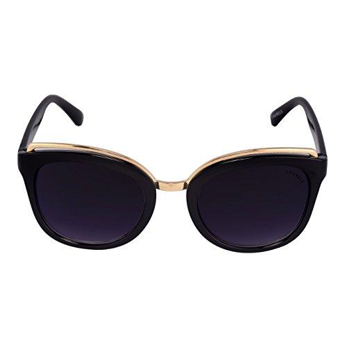 Laurels Whitney Black Over-sized Women Sunglass- LS-WTY-IX-021814