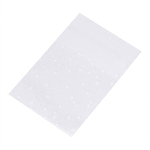 GLOGLOW-Famus 100pcs Lovely Cute Dot OPP Self Adhesive Cookie Bakery Candy Sweet Biscuit Roasting Treat Gift Soap Favor Cello OPP DIY Plastic Bag Birthday Party (7mx7cm)