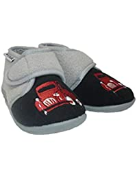 904d00cb439 Amazon.co.uk: Grey - Slippers / Boys' Shoes: Shoes & Bags