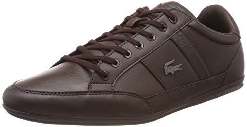 Lacoste Herren Chaymon Bl 1 CMA Sneaker, Braun Dk BRW Db2, 44 EU