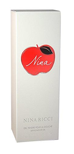 Nina Ricci Femme/woman, Duschgel 200 ml, 1er Pack (1 x 200 ml) (Parfüm Fresh Shower Clean)