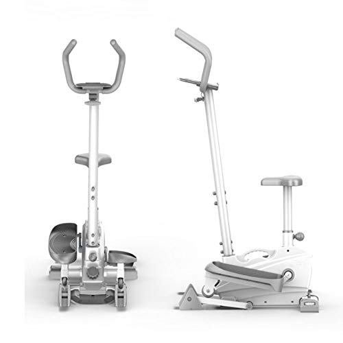 PQXOER Bicicleta Elíptica 2-en-1 elíptica de la Bicicleta estática-Fitness Cardio Pérdida de Peso...