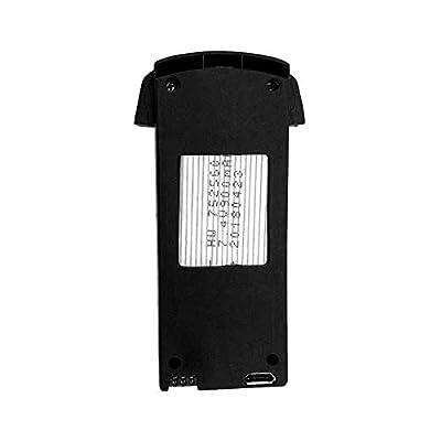 xluckx 7.4V 900mAh SMRC S20 GPS Version Battery Original Modular Battery Four-axis Folding Aircraft Drone Accessories for Aircraft Drone Accessories