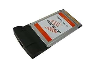 KALEA-INFORMATIQUE © - Carte PCMCIA / CARDBUS vers Reseau LAN 10/100 Ethernet - Prise RJ45