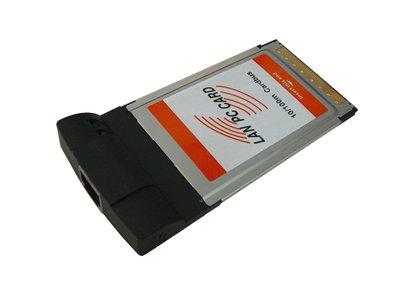 Kalea Informatique Karte PCMCIA/Cardbus auf Netzwerkkabel LAN 10/100Ethernet–RJ45Kupplung
