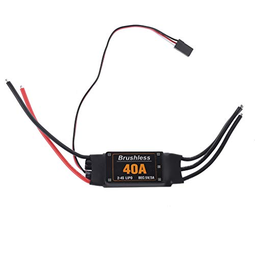Lisanl 40A Brushless ESC Drone Airplanes Parts Components Accessories Speed  Controller Motor RC Toys FPV Durable Quadcopter Helicopter