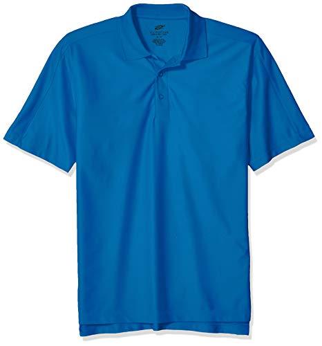 Pacific Knit Shirt (Unbekannt Clementine Herren ULTC-8415-Cool & Dry Elite Performance Polo Poloshirt, Pacific Blue, 4X-Groß)