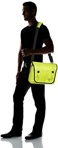 Chiemsee Umhängetasche Messenger Bag Lombok Tasche mit Trageriemen und Crossbody Funktion Safety Yellow