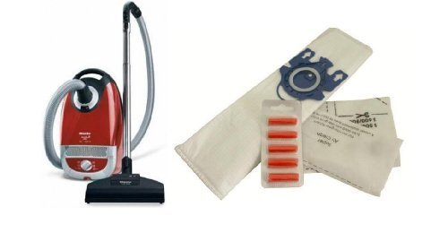 (Pack x 10) FIRST4SPARES Replacement Dust Bags & Air Freshener Sticks For MIELE Cat & Dog 5000 S5 GN Series Vacuum Cleaners. Synthetic Cloth Microfibre DUST BAGS & FILTERS