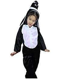 Niños Disfraces de animales Niños Niñas Unisex Disfraces cosplay Niños onesie (Pingüino, M (Para niños de 90 a 105 cm de altura))