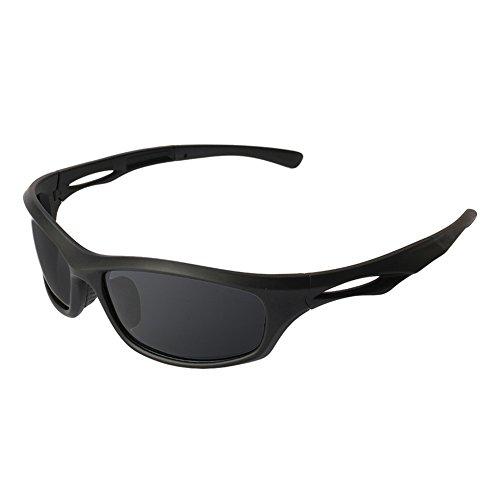 Polarisierte Sport-Sonnenbrille, die Bequeme Sonnenbrille Damen Herren Radfahren Baseball-Laufen Fährt