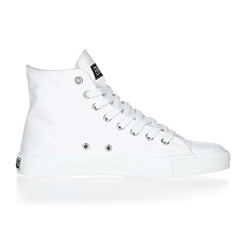 Ethletic Sneaker HiCut Collection 17 aus Bio-Baumwolle – just white / weiß – nachhaltig & fairer High-Sneaker - 5