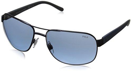 Polo Ralph Lauren Lunettes de soleil 0PH3093 Matte Blue, 62 57419eede6c1