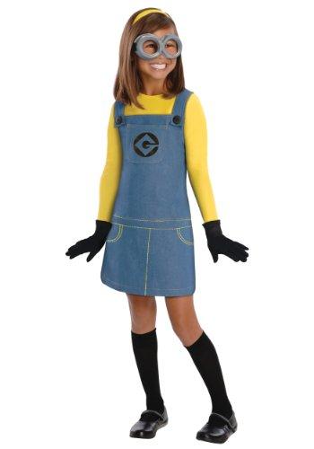 Generique - Minions-Kostüm für Mädchen 98/104 (3-4 -