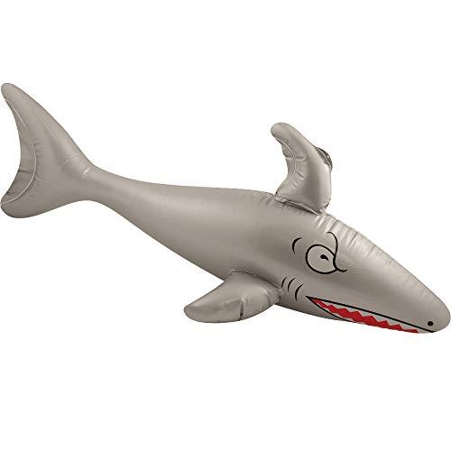 Aufblasbarer - Hai - Shark ┃ 90 cm ┃ Pool Party ┃ Fasching ┃ Karneval ┃ Aufblasbar ┃ Hai ()