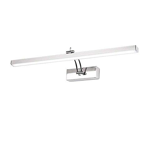 XQY Badezimmer-Spiegel-Licht, geführte Spiegel-Frontlichter, Spiegel-Kabinett-Lichter imprägniern Vanity-Licht, Das Wand-Lampen-Badezimmer-Licht-Spiegel-Licht, warmes Licht, weißes Licht, Haushalts-B -