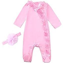 Quality The Cheapest Price Abbigliamento Bimba,neonata.completo Bimba In Tessuto Ricamato.nuova Collezione Excellent In