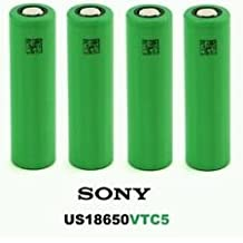 4x Sony us18650-vtc5Batterie 2600mAh 30A Originale UK STOCK IN VERA