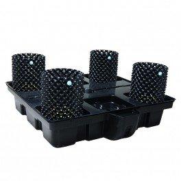Systeme hydroponique Big Pot XL Air 100-4 - Platinium Hydroponics - hydro-terre-coco