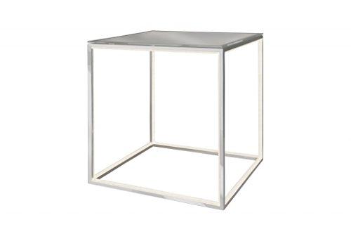 Sompex LED Tisch Delux mit Glasplatte - quadratisch -