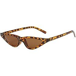 Rawdah Conducción de gafas de sol, moda Vintage Retro Unisex UV400 gafas para conductores que conducen gafas de sol (B)