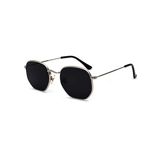 Wzpwwj occhiali da sole rossi gialli occhiali da sole leggeri da donna in metallo retrò