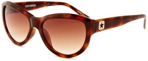 Converse Damen Wavelength Cateye Sonnenbrille, Tortoise