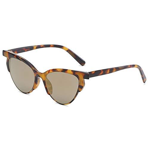 XZANTE Katze Augen Sonnenbrillen Damen Vintage Designer Brillen Retro Sonnenbrillen Weibliche Shades (Schildpatt + Grau)