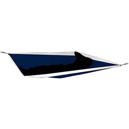 TICKET TO THE MOON Hängematte, Single size – marineblau/ weiß - 3