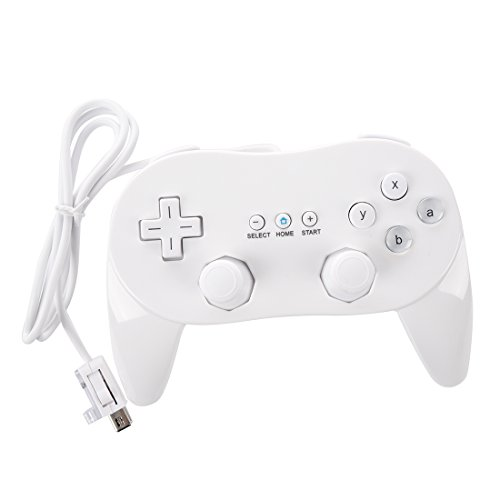 SODIALR Mando Controlador Nintendo Wii Clasico Juego
